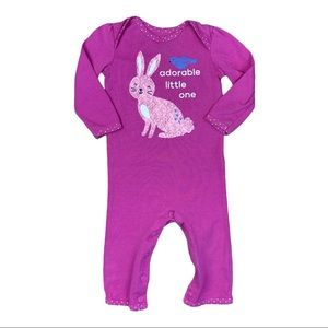 Carters '-adorable little one' footless sleeper